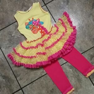Emily Rose Giraffe Tutu 2Piece Set